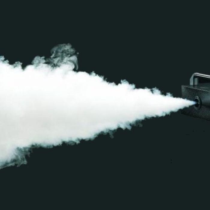 Дым-машина. Световой куб