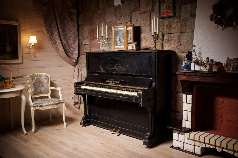 Старое пианино - история из жизни